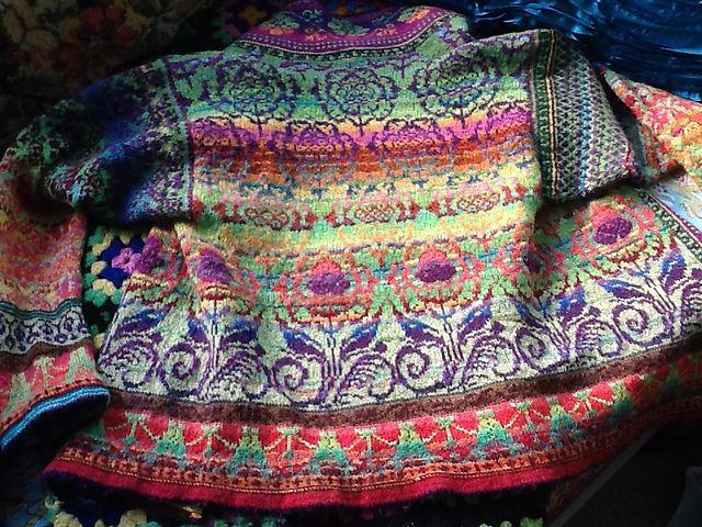 Ravelry: rishi's Nepalese Haley Jacket