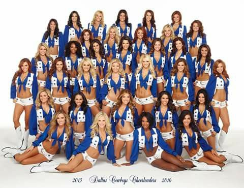 2015 Dallas Cowboys Cheerleaders 2016
