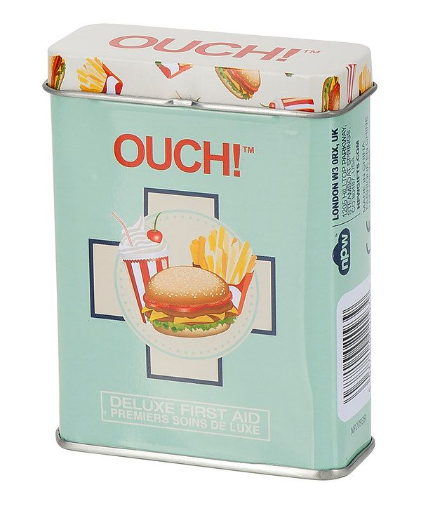 Look at this NPW Fast Food Adhesive Bandages
