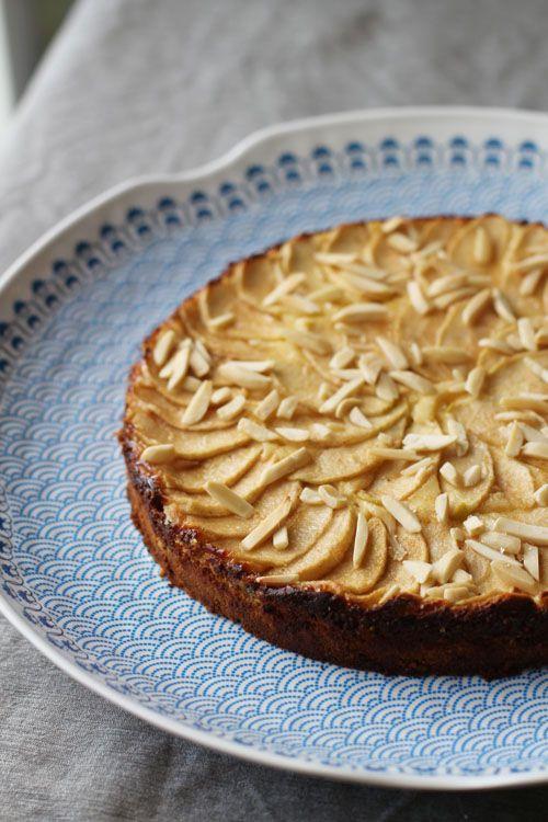 apple bavarian torte | Desserts | Pinterest