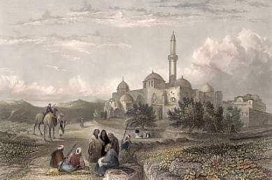 Monte Sião, em Jerusalém, a Mesquita de David