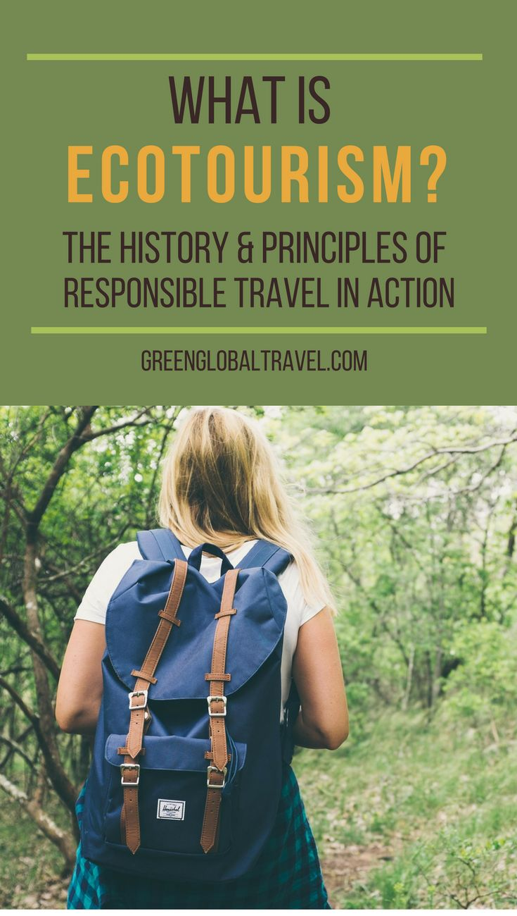 What is #Ecotourism? How does it work and does it really matter? This article explains this history and principles of Ecotourism and why it is important to local people via @greenglobaltrvl