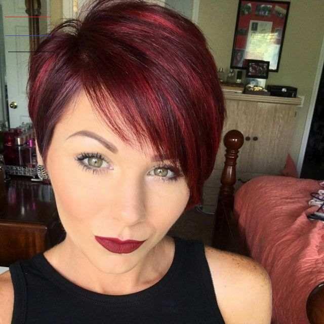 Haare rot kurze Rot Kurze