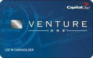 Capital One VentureOne Rewards Credit score Card Software – CV ✎