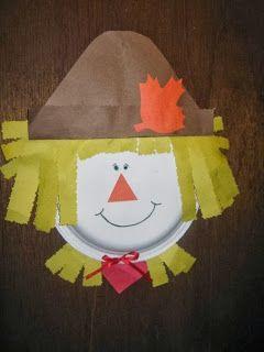 Tons of Fall kids crafts - Halloween, Thanksgiving, Autumn