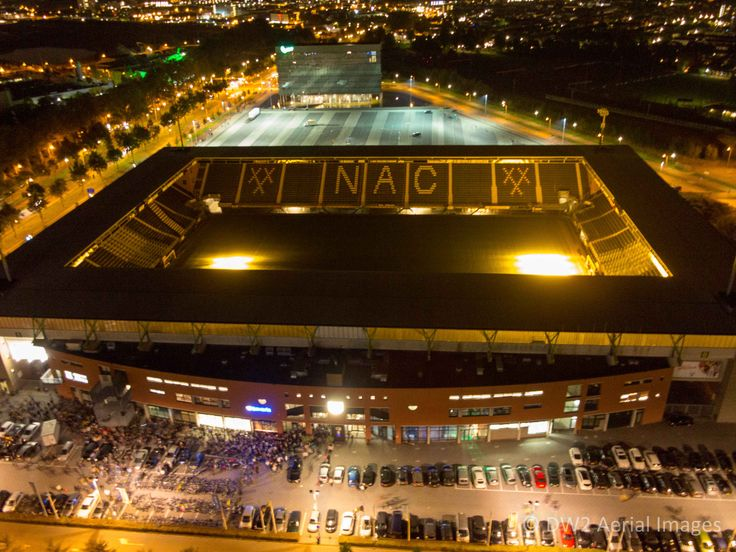 """RatVerlegh"" stadium. Home of N.A.C. soccerclub, Breda, the Netherlands"