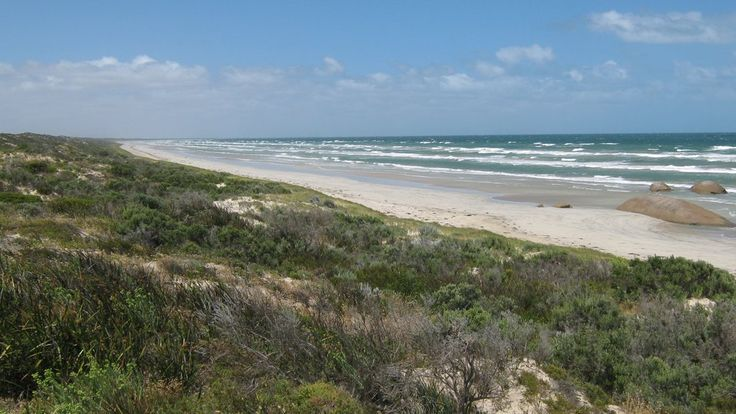 Coast At The Granites, Coorong, South Australia, Australia