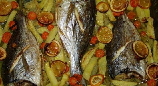 Fırında Çipura Tarifi (çupra) | Yemek Tarifleri