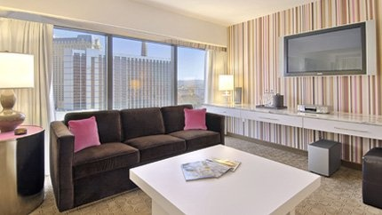 The Flamingo Hotel in Vegas has brand new rooms with an ultra modern feel - and it's right in the middle of the strip. Convenient! Gear Up CPE conferences in Las Vegas for tax and accounting professionals are hosted at the Flamingo: Jackpot from May 20-25 and Royal Flush from December 2-7.