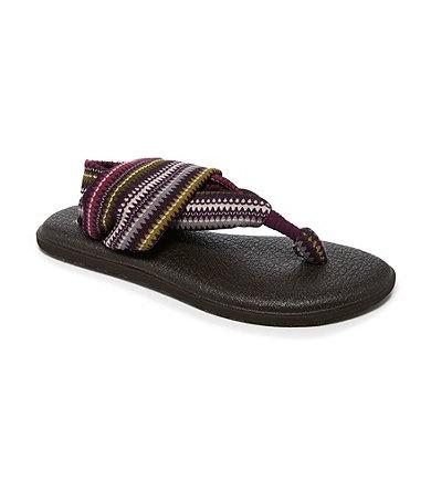 Multicolore Flip Flops confortable Yoga léger Sandales Sling PFyfciR