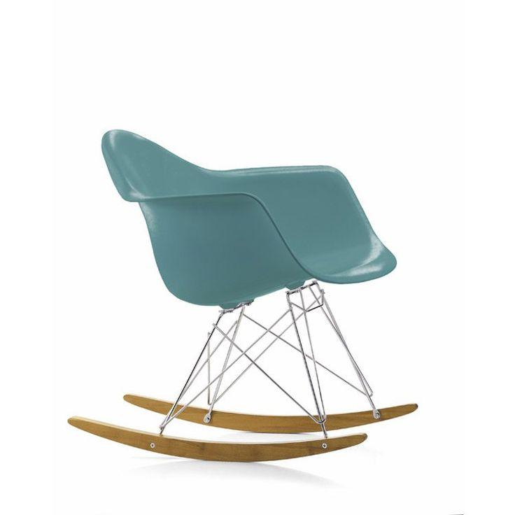 Eames Rocking Chair RAR gungstol, ocean från Vitra – Köp online på Rum21.se