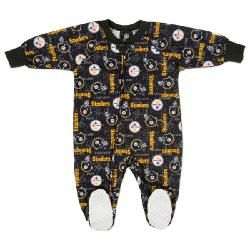 Pittsburgh Steelers Infant All-Over Blanket Sleeper - Official Online Store