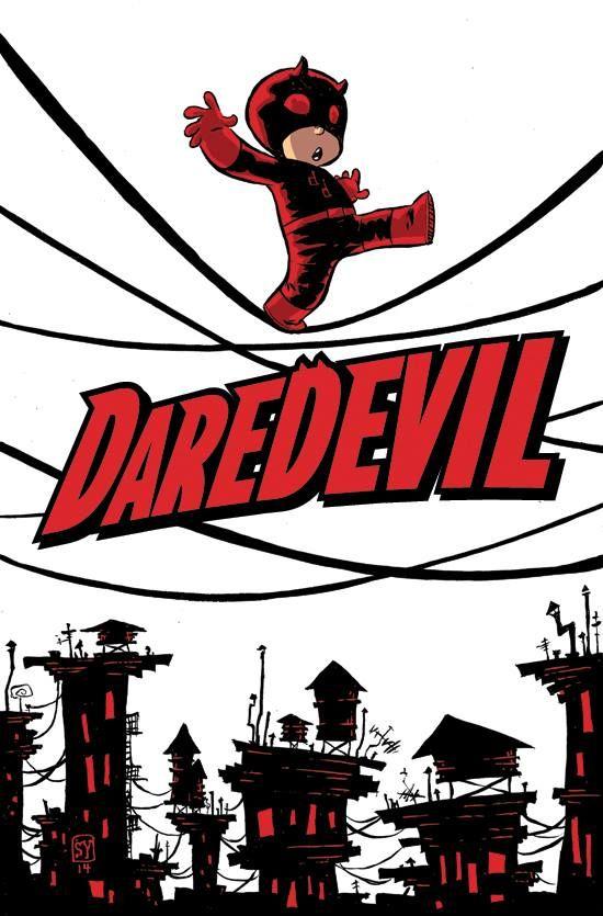 Daredevil by Skottie Young *