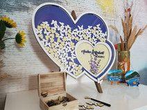 Jubilee Frame - Unique Wedding Drop box Guestbook