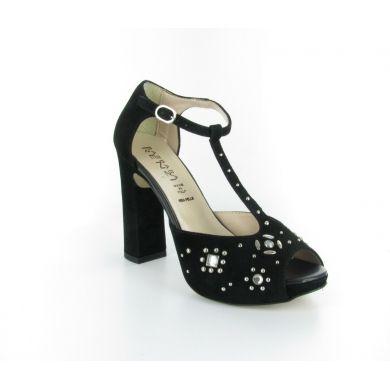 Sandalo in camoscio by Barbara Renzi #scarpe #donna #italianshoes
