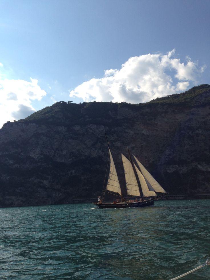 #veliero - #Lago di Garda - Italia #boat #events #lakegarda  @Lago Di Garda Lombardia
