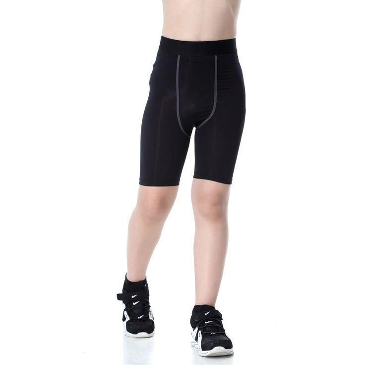 Kids Running Compression Shorts Boy Girl Sport Panties Children Basketball Football Fitness Ropa Hombre Trousers Short Tights