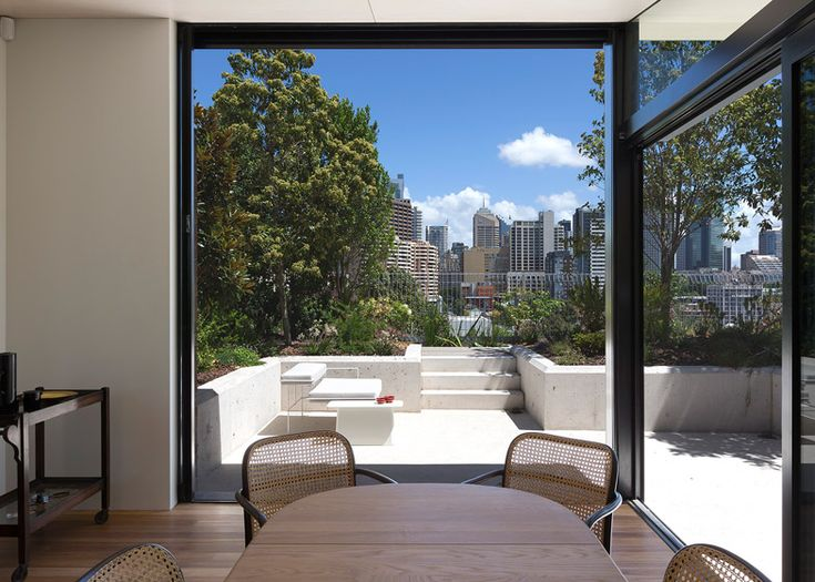 Co ap creates rooftop oasis for a sydney penthouse