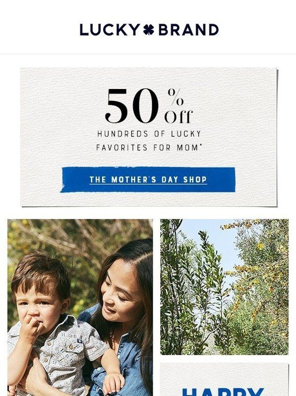 Last Day For 50 Off Lucky Faves For Mom Lucky Brand Lucky Lucky Brand Last Day