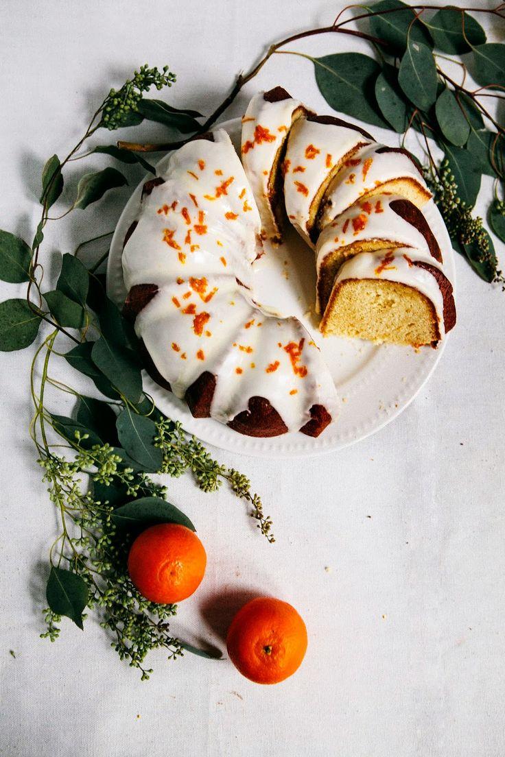 Hummingbird High - A Desserts and Baking Food Blog in Portland, Oregon: Tangerine Sour Cream Pound Cake