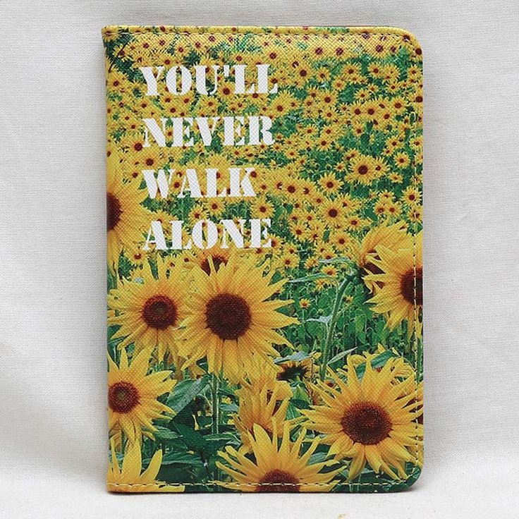 New Beautiful flower 3D Travel Passport Holder Cover PU Leather Identity ID Card…