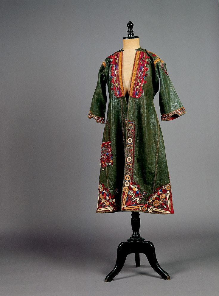 """""""Sayás"""". Overcoat from the """"Kapotzida"""" costume from Pylaia in the Thessaloniki region.-late 19th -http://www.texmedindigitalibrary.eu/?browse=location=9"""