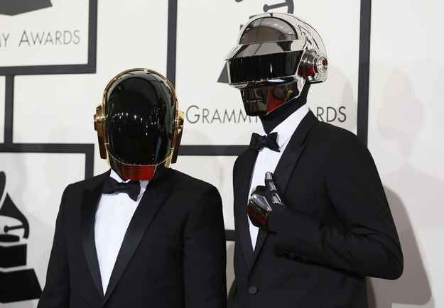 In Case You Were Wondering, This Is What The Guys From Daft Punk Look Like Without Their Helmets