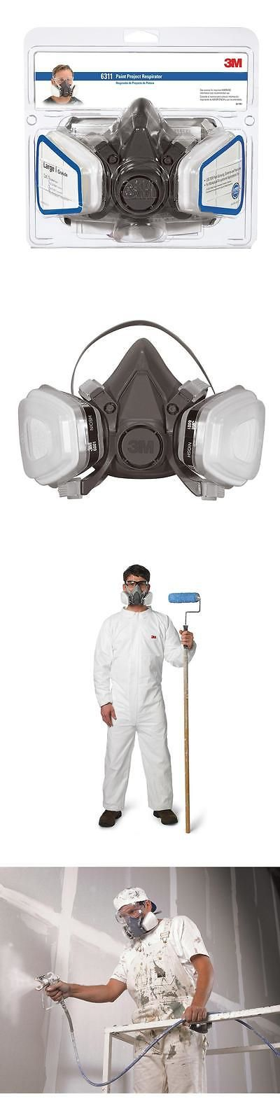 Masks Respirators and Helmets 43617: 3M Large Half Facepiece Spray Paint Respirator Safety Dust Mask Gas Vapor Filter -> BUY IT NOW ONLY: $51.92 on eBay!