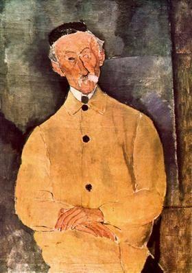 Monsieur Lepoutre - Amedeo Modigliani