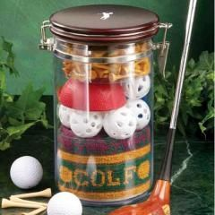Clubhouse Collection Golfers Jar 'O' Gifts