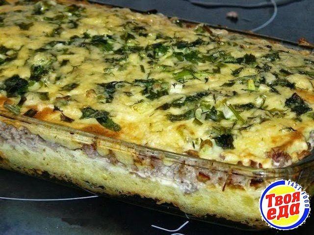 Картофельная запеканка с фаршем - Кулинарные рецепты