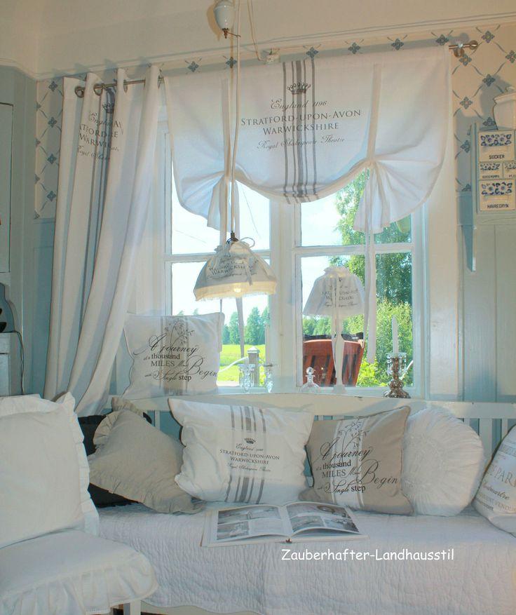 Zauberhafte Wohnidee Im Landhausstil Vorhnge WohnzimmerSchlafzimmer Gardinen