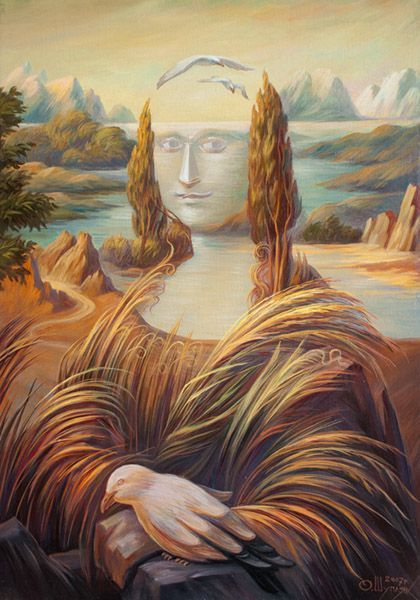 Stunning optical illusion paintings by Oleg Shuplyak | memolition