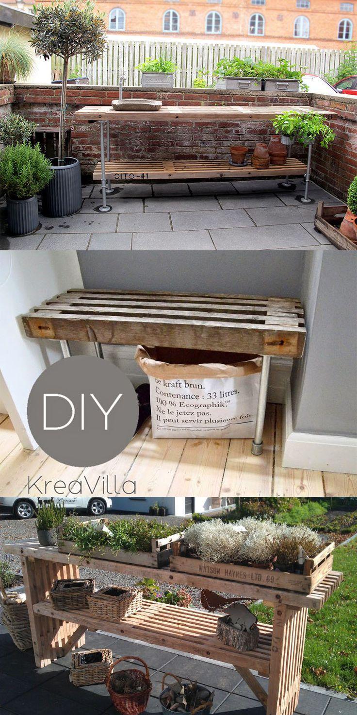 ideer til møbler med traller - www.vangelyst.dk