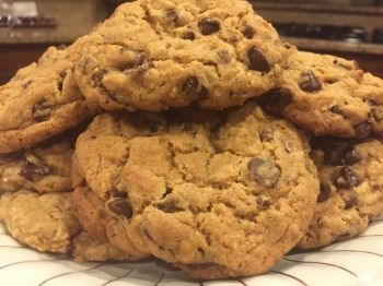 The Blessed Life: Chocolate Chip Cookies that taste like Chick-Fil-A Chocolate Chunk  