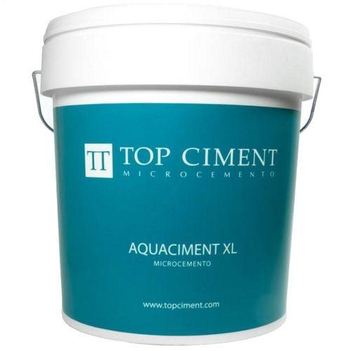 Microcemento Aquaciment XL para preparación del soporte en el revestimiento de piscinas, se aplicar como nivelador antes del Aquaciment M