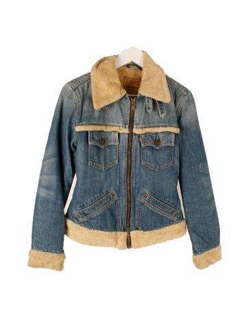 Levi's chaqueta piel mujer