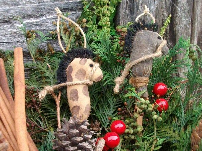 17 best ideas about country christmas ornaments on