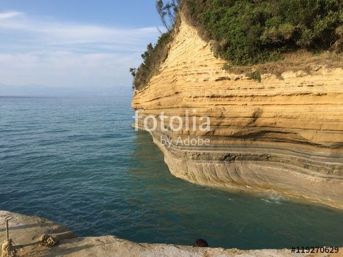 """Download the royalty-free photo """"Sidari, Corfu island, Greece"""" created by Ciaobucarest at the lowest price on Fotolia.com. Browse our cheap image bank online to find the perfect stock photo for your marketing projects!"""