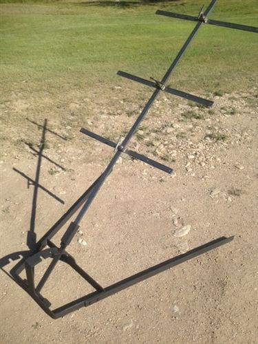 Asado Cross with Adjustable Base 60 X 24