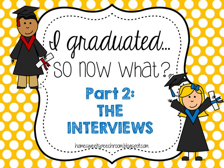 Home Sweet Speech Room: A post about interviewing for SLP positions in a variety of settings.