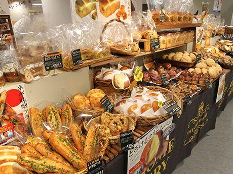あべのハルカス近鉄本店(大阪市阿倍野区)ウイング館9階催会場で10月18日、グルメ催事「パン&スイーツフェスタ」が始まった。