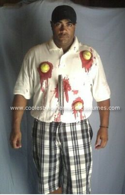 Tennis Player Costume grisly