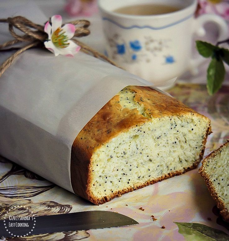 Lemon Poppy-Seed Bread @SECooking | Sandra