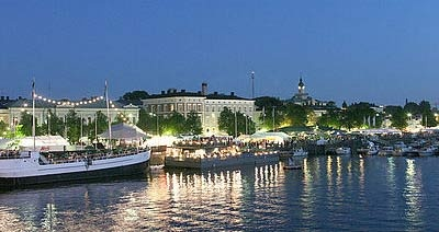 Kesäilta Porissa - Pori, the town I grew up in