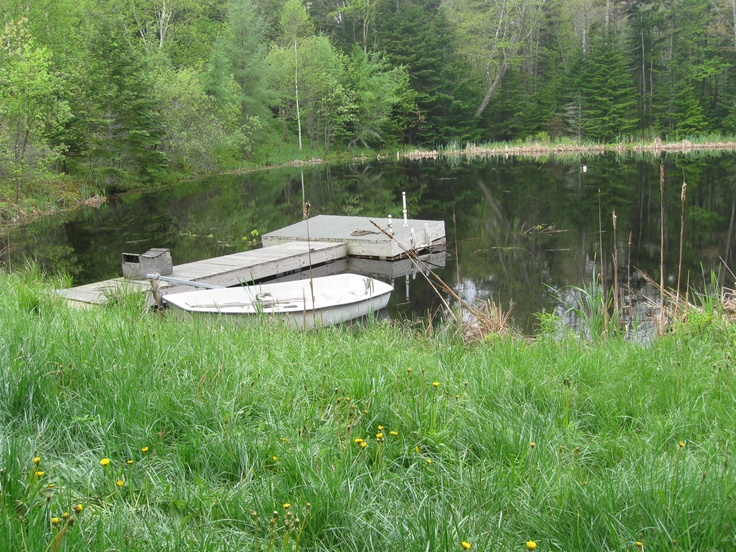 71 best farm pond images on pinterest boat dock for Small fishing boats for ponds