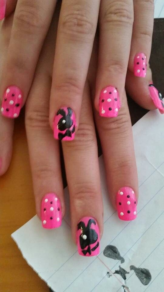 8 best playboy bunny nail designs images on pinterest make up playboy bunny prinsesfo Image collections