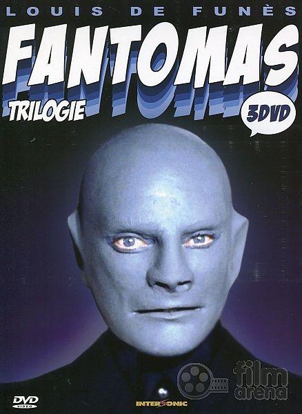 Fantômas | Úvodní strana Komedie FANTOMAS Trilogie 1 - 3 Kolekce (3 DVD)