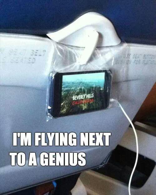 What? Some of these are absolutely genius. - 10 Tips For Staying Sane On A Long Flight from huffingtonpost.com