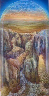 """""""O Voo da Águia"""" - Pintura a acrílico de Anabela Faia"""